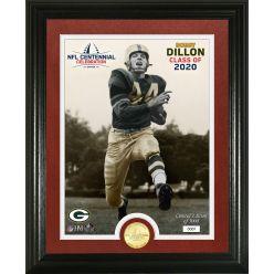 Bobby Dillon Hall of Fame Centennial Celebration Bronze Coin Photo Mint