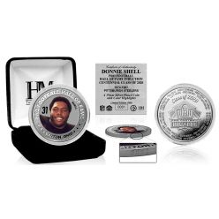 Donnie Shell HOF Centennial Class of 2020 Color Silver Coin