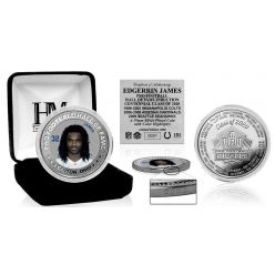 Edgerrin James 2020 Hall of Fame Color Silver Coin