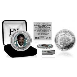 Harold Carmichael HOF Centennial Class of 2020 Color Silver Coin