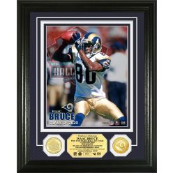 Isaac Bruce 2020 Hall of Fame Bronze Coin Photo Mint
