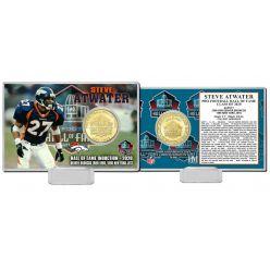 Steve Atwater 2020 HOF Bronze Coin Card