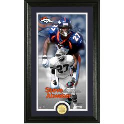 Steve Atwater 2020 HOF Supreme Bronze Coin Photo Mint