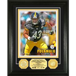 Troy Polamalu 2020 Hall of Fame Bronze Coin Photo Mint