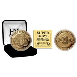 Super Bowl XXVI 24kt Gold Flip Coin