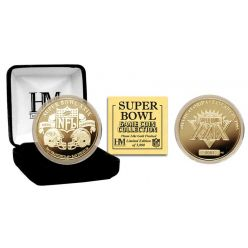 Super Bowl XXIX 24kt Gold Flip Coin