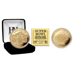 Super Bowl XXX 24kt Gold Flip Coin