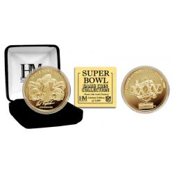 Super Bowl XXXV 24kt Gold Flip Coin