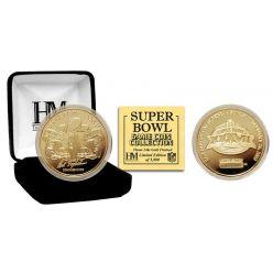 Super Bowl XXXVII 24kt Gold Flip Coin