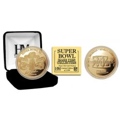 Super Bowl XL Gold Flip Coin