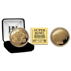 Super Bowl IV 24kt Gold Flip Coin