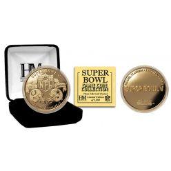 Super Bowl V 24kt Gold Flip Coin