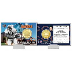 Gale Sayers NFL HOF Bronze Coin Card