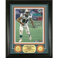 Jason Taylor 2017 Pro Football Hall of Fame Bronze Coin Photo Mint