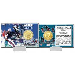 Lawrence Taylor NFL HOF Bronze Coin Card
