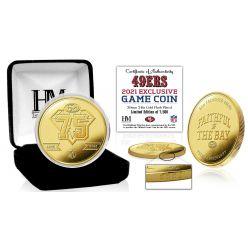 San Francisco 49ers 75th Anniversary Gold Flip Coin