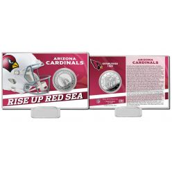 Arizona Cardinals 2020 Team History Coin Card