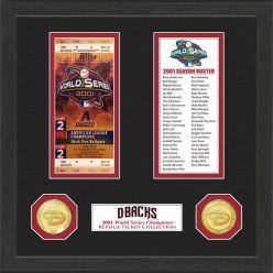 Arizona Diamondbacks World Series Ticket Collection