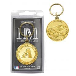 Arizona Diamondbacks Bronze Coin Keychain
