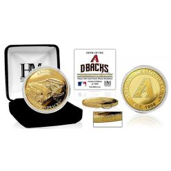 "Arizona Diamondbacks ""Stadium"" Gold Mint Coin"