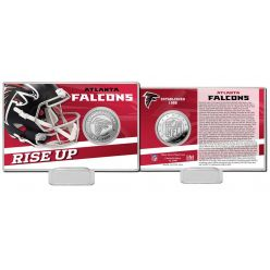 Atlanta Falcons 2020 Team History Coin Card