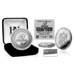 Kansas City Chiefs vs Cleveland Browns Official AFC Divisional Game Flip Coin