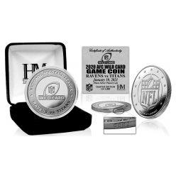 Baltimore Ravens AFC Wild Card Game Official Flip Coin