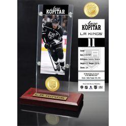 Anze Kopitar Ticket & Bronze Coin Acrylic Desktop