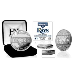 Tampa Bay Rays 2020 AL Champions Silver Mint Coin