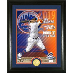 Pete Alonso 2019 NL ROY Bronze Coin Photo Mint