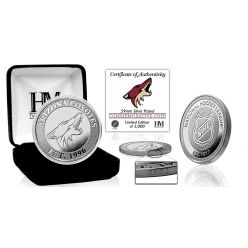 Arizona Coyotes Silver Mint Coin