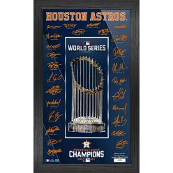 Houston Astros 2021 American League Champions Signature Trophy