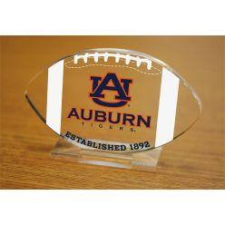 Auburn University Etched Football Acrylic