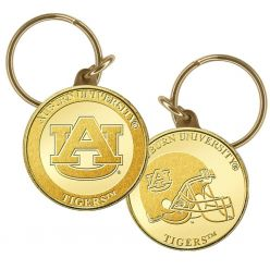 Auburn University Bronze Coin Keychain