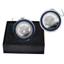 Auburn University Silver Coin Ornament
