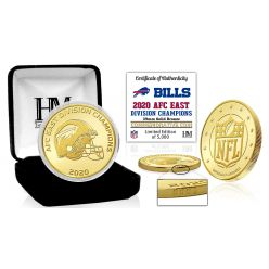 Buffalo Bills 2020 AFC East Division Champions Bronze Mint Coin