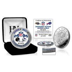 Buffalo Bills AFC Divisional Game Victory Silver Mint Coin