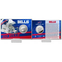 Buffalo Bills 2020 Team History Coin Card