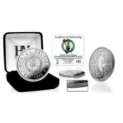 Boston Celtics Silver Mint Coin