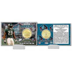 Brian Dawkins 2018 Pro Football HOF Induction Bronze Coin Card