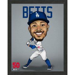 Mookie Betts Los Angeles Dodgers Framed Dynamo