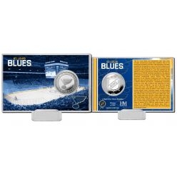 St. Louis Blues History Silver Coin Card