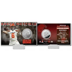 Baker Mayfield Silver Coin Card