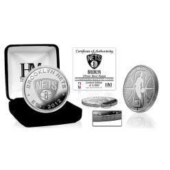 Brooklyn Nets Silver Mint Coin