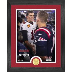 Tom Brady Returns Bronze Coin Photo Mint