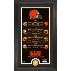 Cleveland Browns Legacy Supreme Bronze Coin Photo Mint