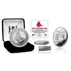 Boston Red Sox Silver Mint Coin