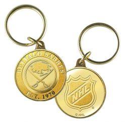 Buffalo Sabres Bronze Team Keychain