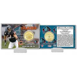 Brian Urlacher 2018 Pro Football HOF Induction Bronze Coin Card