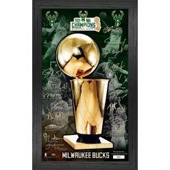 Milwaukee Bucks 2021 NBA Finals Champions Signature Trophy